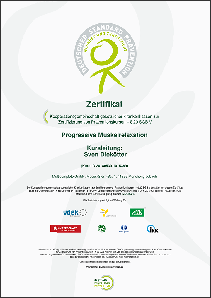 ZPP-Zertifikat